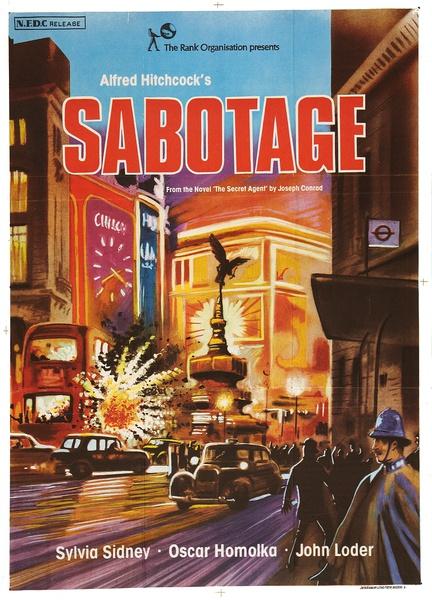 Sabotage poster