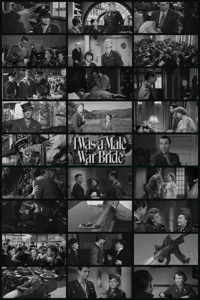 Film Review I Was A Male War Bride 1949 Cinema Omnivore