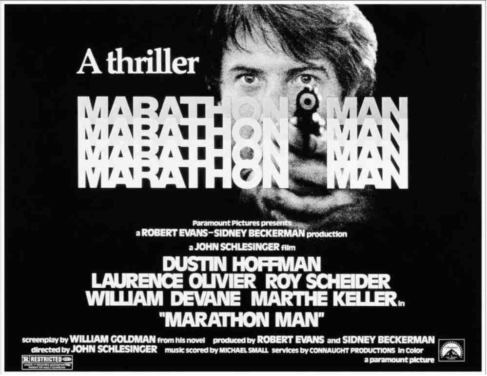 Film Review] Marathon Man (1976) – Cinema Omnivore